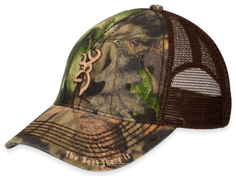 Browning Cap Brown/Mossy Oak Break Up County 3D Buckmark 308367281