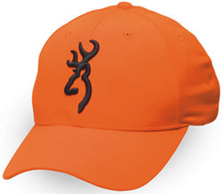 Browning Cap Safety 3D Logo Blaze Orange