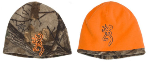 Browning Reversible Beanie Reatree Xtra/Blaze Orange 308511011