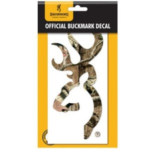 "Browning Decals Buckmark 6"" Camo Weather Resistant - High Quality Vinyl 3922002916"