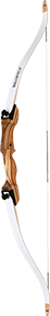 "Escalade Sports 18 Bullseye X Recurve Bow Takedown 54"" 29#"