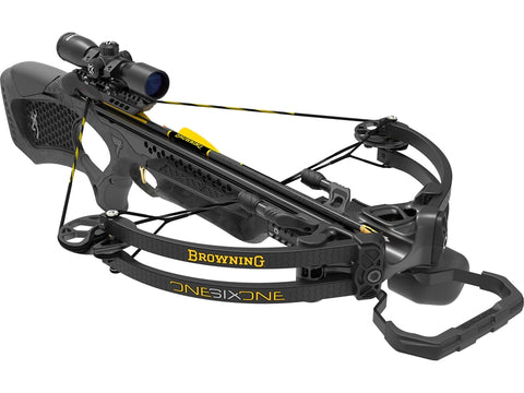 Browning Crossbow Package Model 161 350Fps Scope/Arrows/ 80033