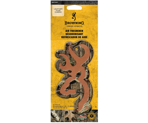 Browning Air Fresheners Leather Infinity Buckmark BAF3006