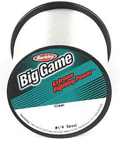 Berkley Big Game Line 50Lb Clear 275 Yards BGQS50C-15