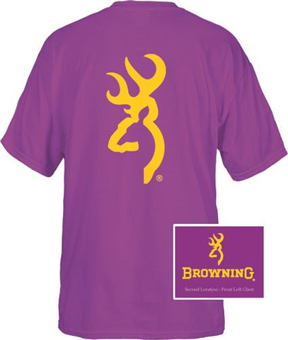 Bg Men'S T-Shirt Custom Gold 137 Buckmark Large Purple< Brc1756065L