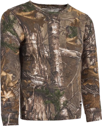 Berne Workwear Berne Youth Long Gun L/S T-Shirt Lg Realtree Xtra Camo