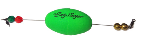 Comal Bay Slayer Oval Popper Green Weighted 1Pk 1 Per Pack WO250RBG