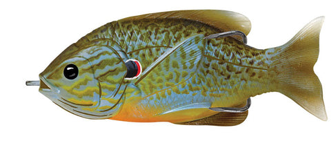 "Koppers Hollow Body Sunfish 5/8Oz 3 .5"" Natural/Blue Pumpkinseed SFH90T551"