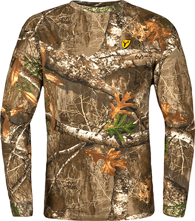 Blocker Outdoors Llc Scentblocker Long Sleeve Shirt Realtree Edge Camo Large