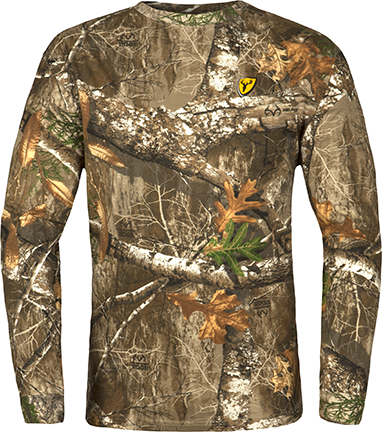Blocker Outdoors Llc Scentblocker Long Sleeve Shirt Realtree Edge Camo 2Xlarge