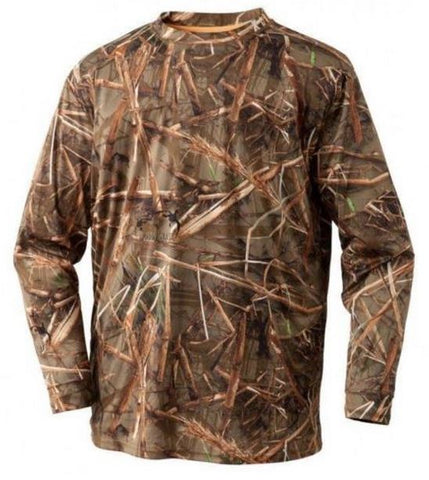 Clear Image T-Shirt Long Sleeve Muddy Water Camo Small MAF0201-01