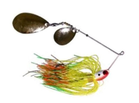 Mann'S Classic Spinnerbait 1/4Oz Firetiger With Gold Colorado/Indiana C14-266