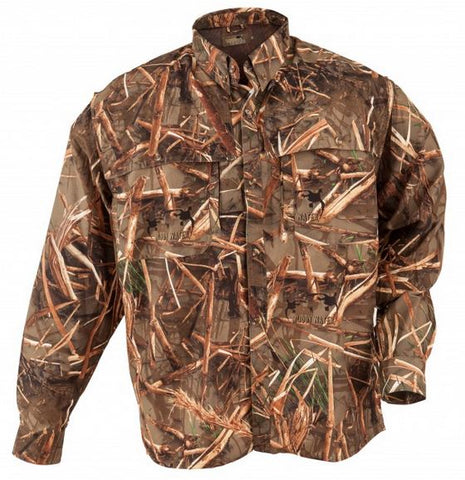 Clear Image Field Shirt Long Sleeve Muddy Water Camo X-Large MEF0303-04