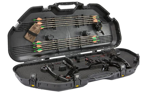 Plano Bow Case All Weather Black With Deluxe Latches 108115
