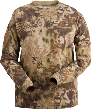 Kryptek Stalker Long Sleeve Shirt Highlander Large
