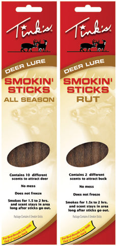Tinks Game Scent Smoke Stick B Rut Stick W6106