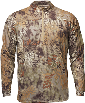 Kryptek Valhalla Long Sleeve Zip Shirt Highlander XL