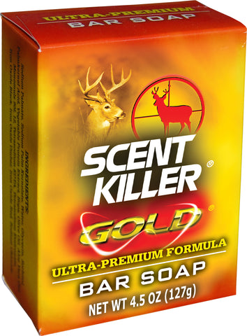 Wildlife Research Center Scent Elimination Gold Bar Soap 4.5Oz Carded 1243