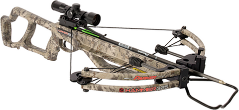 Parker Bows 18 Hammer 325 Crossbow Package w/Multi Reticle Scope