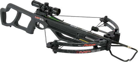 Parker Bows 18 MP-315 Crossbow Package w/Pin Point 3X Scope