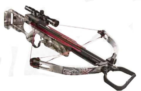The Outdoor Group 18 Camx X330 Base Crossbow Package Mossy Oak Treestand
