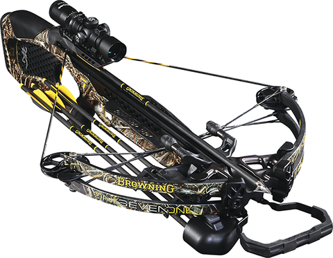 Browning Crossbows 16 Browning Zero 7 Crossbow Pkg w/1.5x5 Scope,3 Arrows,RCD