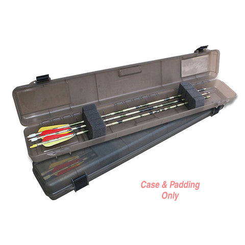 MTM Ultra Compact Arrow Case 12 Arrows up to 32.2 Inch Clear Smoke