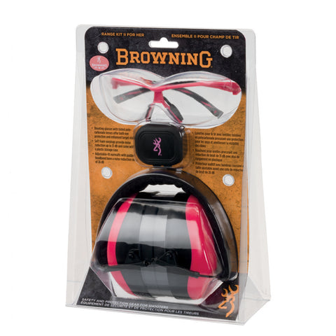 Browning Range Kit II For Her Hear Pro 126373