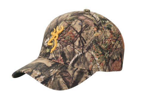 Browning Cap Rimfire Camo 3D Buckmark Mossy Oak Break-Up Country 308379281