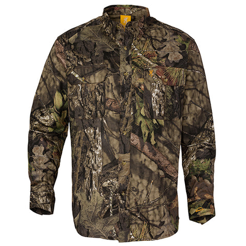 Browning Wasatch Long Sleeve Shirt Mossy Oak Break-Up Country Medium