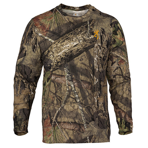 Browning Wasatch Long Sleeve T-Shirt Mossy Oak Break-Up Country Medium