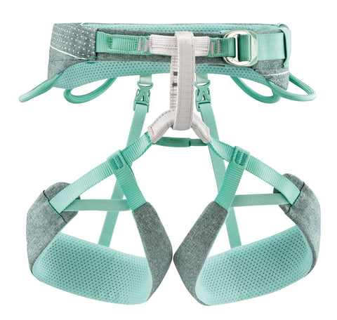 Petzl SELENA Mottled Green Women's Rock Climbing Harness