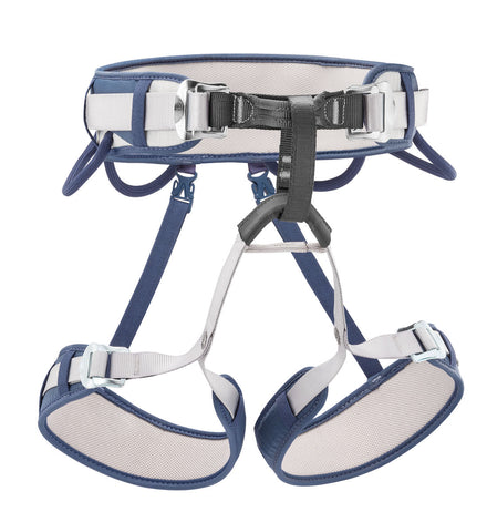Petzl CORAX Blue Jean Rock Climbing Harness