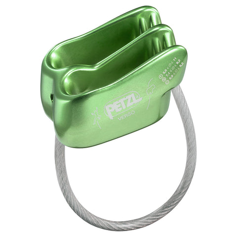 Petzl VERSO Belay/Rappel Device Green