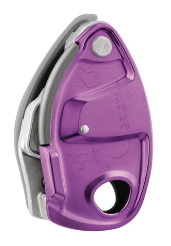 Petzl GRIGRI + Assisted Braking Belay Device Violet