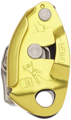 Petzl GRIGRI Assisted Braking Belay Device Yellow