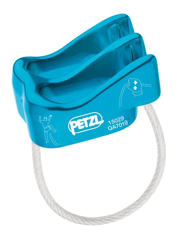 Petzl VERSO Belay/Rappel Device Blue