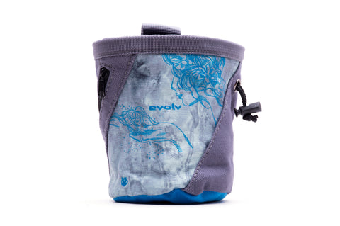 Evolv Breathe Canvas Rock Climbing Chalk Bag