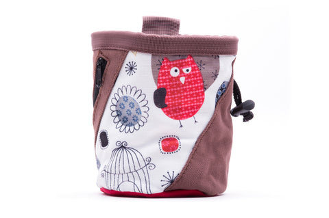 Evolv Owl Canvas Rock Climbing Chalk Bag