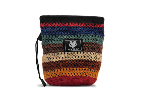 Evolv Sherpa Knit Rock Climbing Chalk Bag