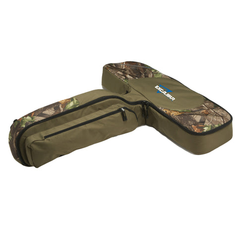 Excalibur Deluxe T-Form Padded Crossbow Case Green/Camo