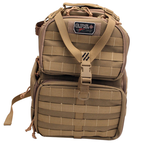 G Outdoors Tactical Range Backpack,Tan GPS-T1612BPT