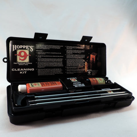 Hoppe's Gun Cleaning Kit with Aluminum Rod for .22 Caliber Rifle with Box U22