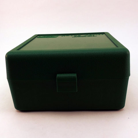MTM Case-Gard Ammo Box 100 Round Green RM-100-10
