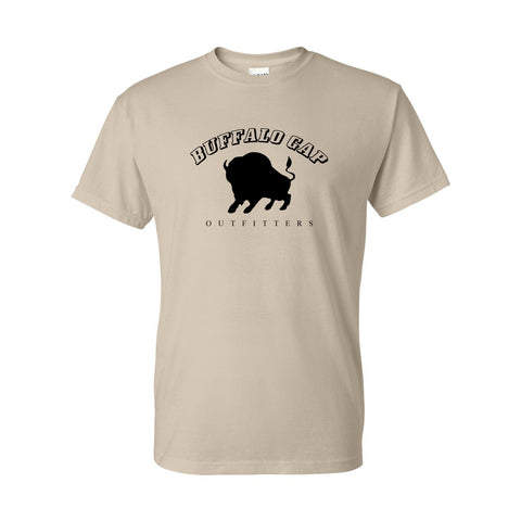Buffalo Gap Outfitters Infographic DryBlend Adult T-Shirt Sand