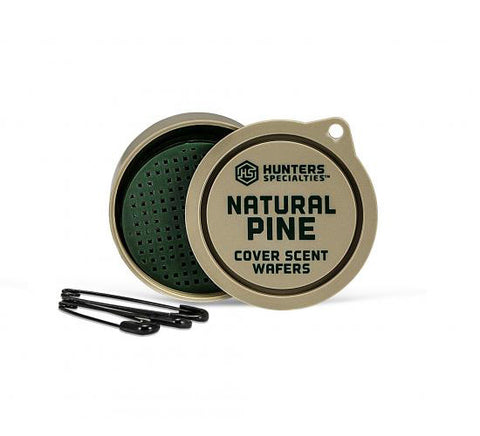 Hunters Specialties Natural Pine Cover Scent Wafers 3 Pack 01024