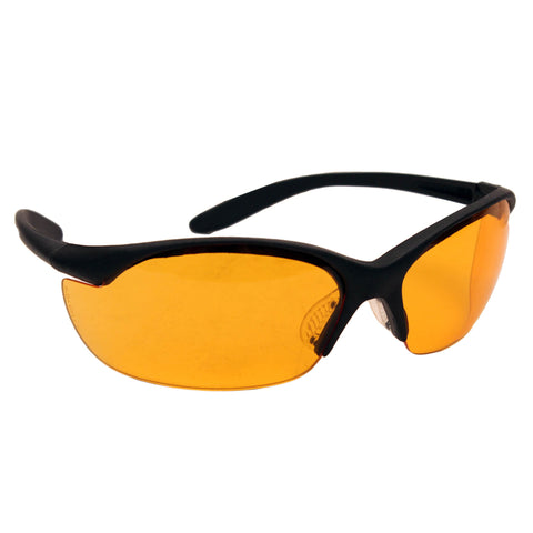 Howard Leight Vapor II Black Frame/Orange Lens/AntiFog R-01537