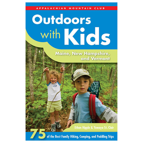 National Book Network AMC Outdoors With Kid Me Nh Vt
