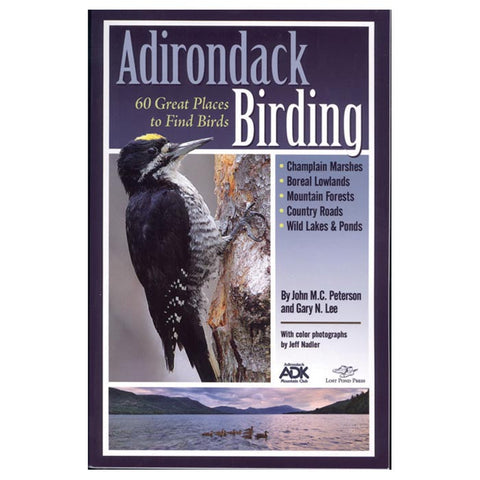 Adirondack Mountain Club Birding Book by John M.C. Peterson and Gary Lee
