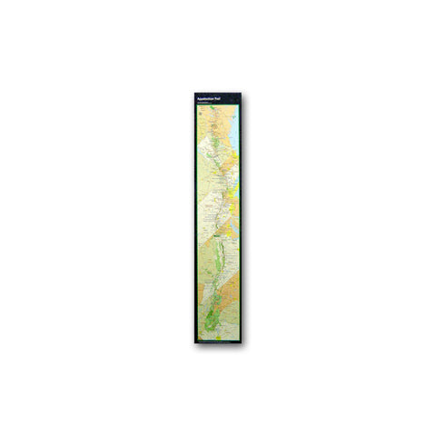 Appalachian Trail Conservancy 9 X 48 inch Poster Strip Map